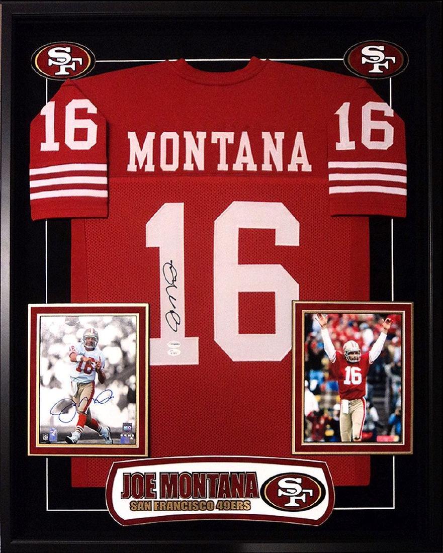 Joe Montana Signed 49ers Jersey