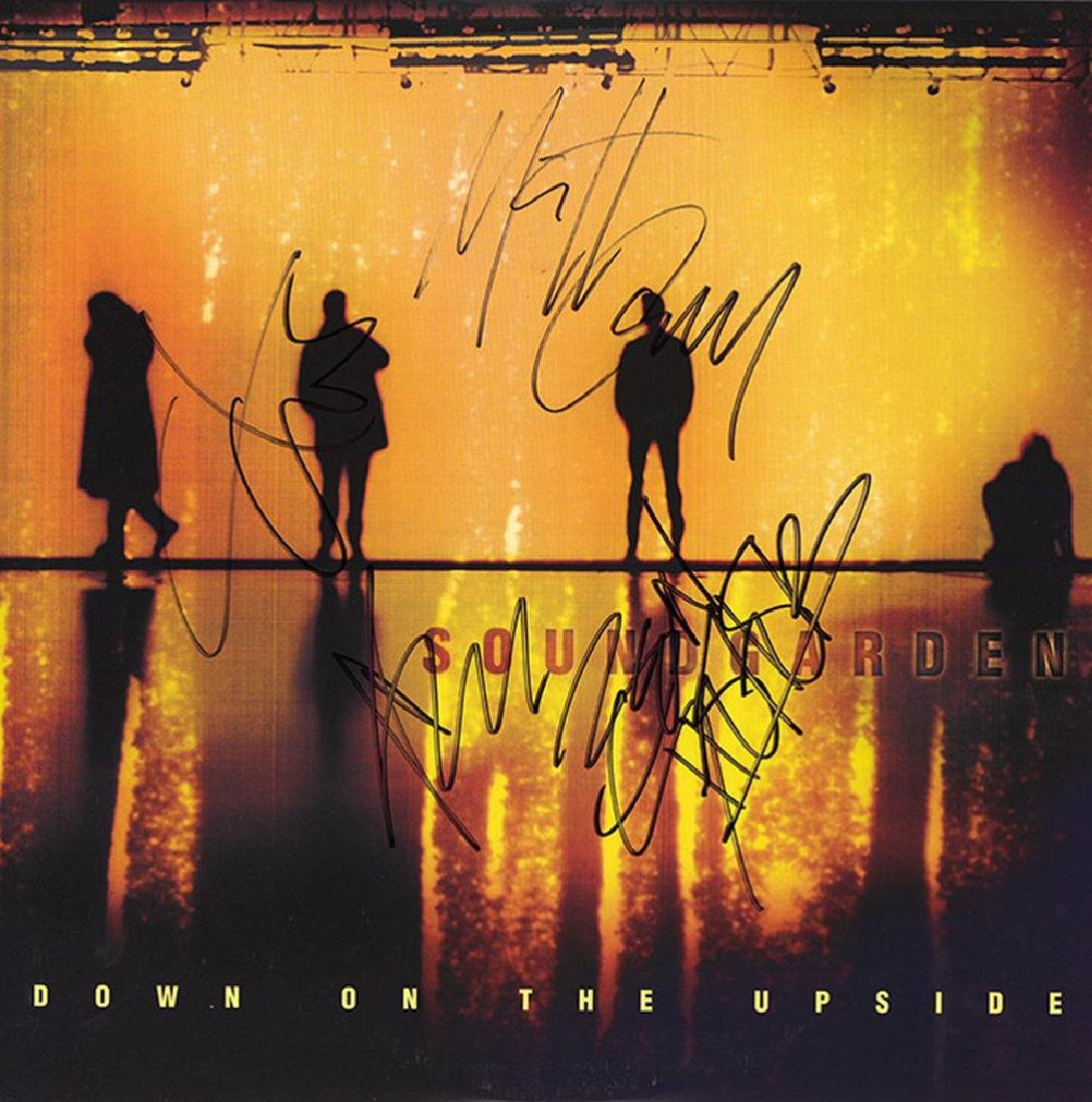 Soundgarden Band Signed Down On The Upside Album