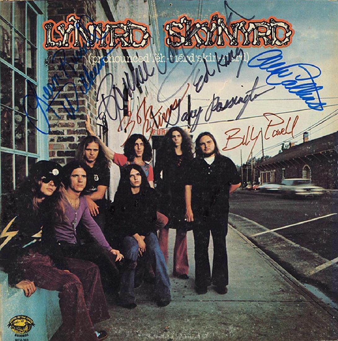 Lynyrd Skynyrd Band Signed Pronounced Album