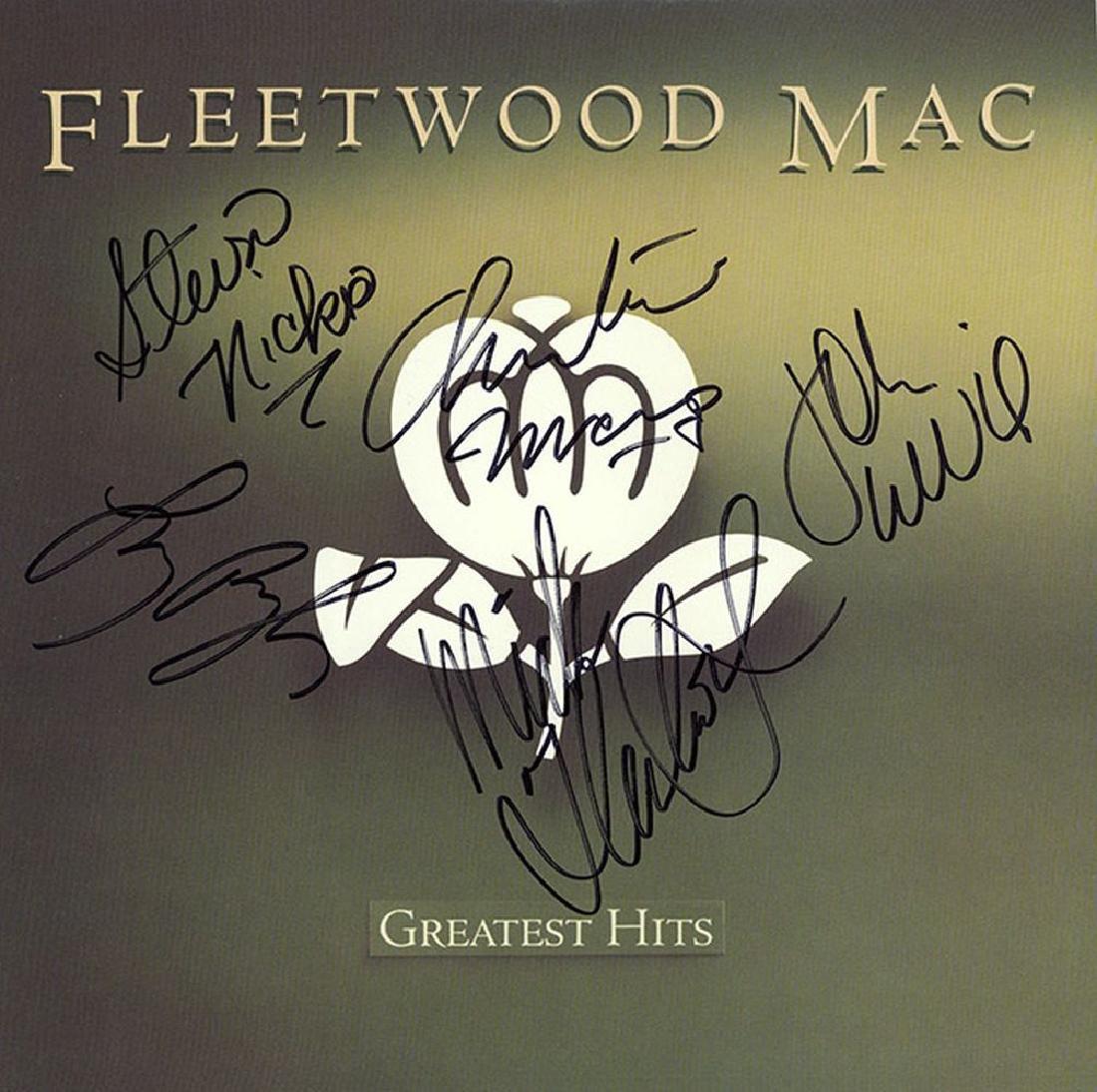 Fleetwood Mac Band Signed Greatest Hits Album