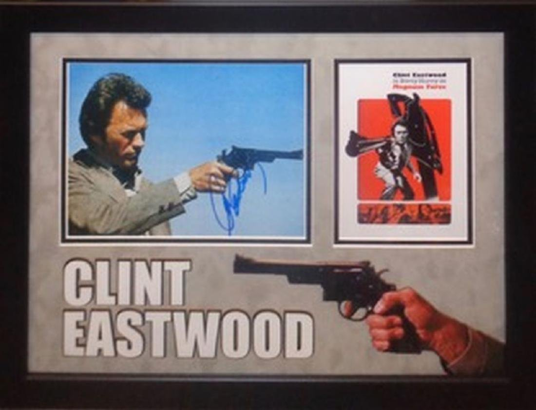 Clint Eastwood Gun Photo
