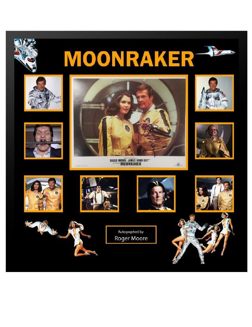 James Bond Moonraker Collage