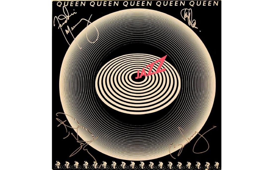 """Queen Signed """"Jazz"""" 1978 Album"""
