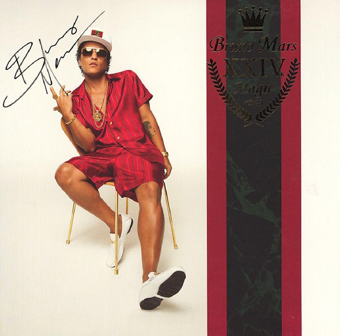"""Bruno Mars """"24K Magic"""" Album"""