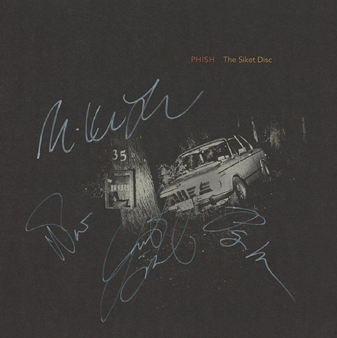 Phish Signed The Siket Disc Album