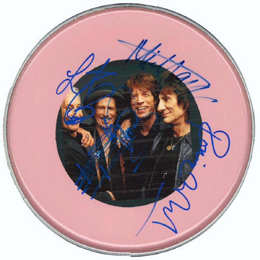 The Rolling Stones Drum Head