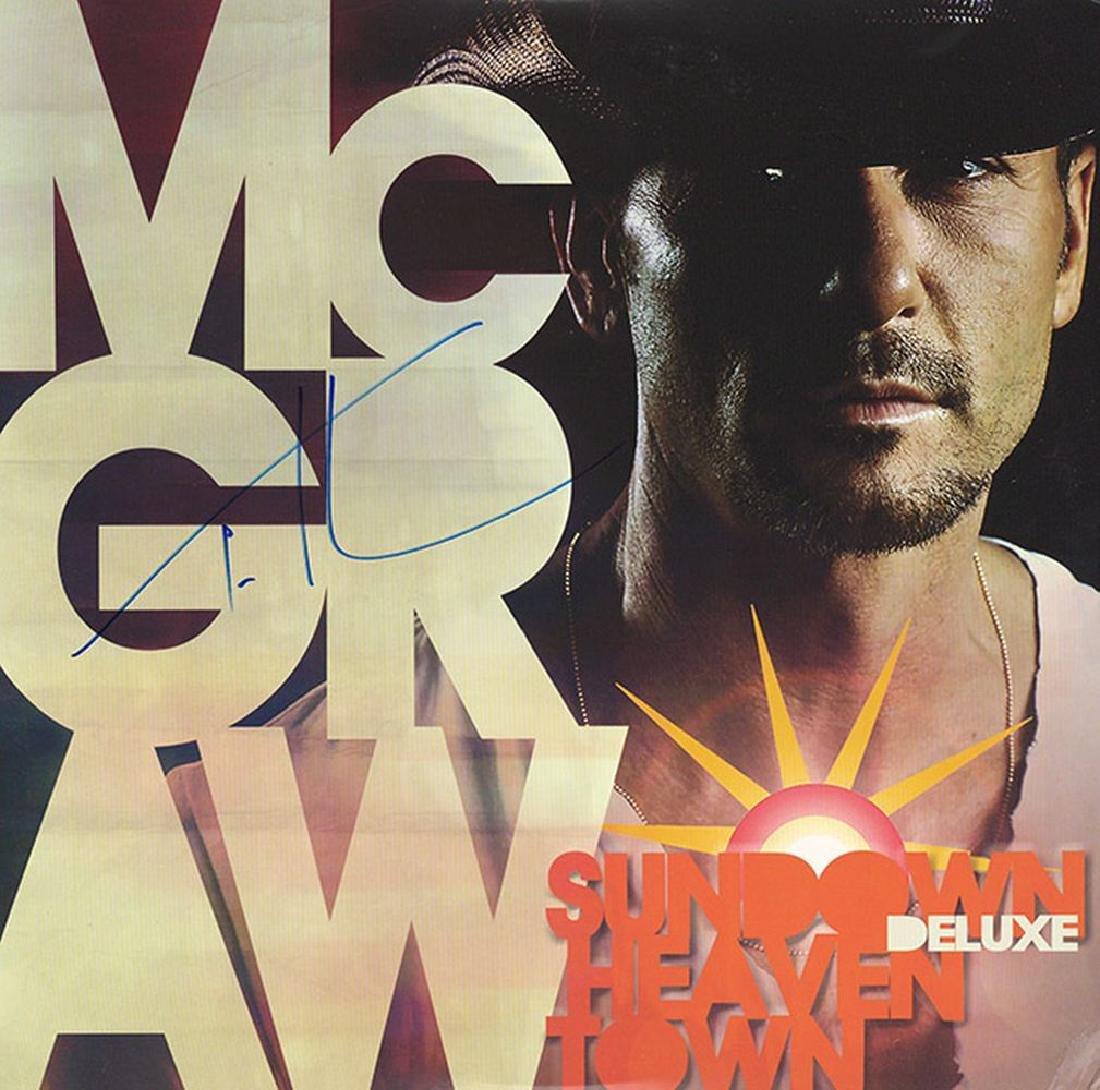 "Tim McGraw ""Sundown Heaven Town"""