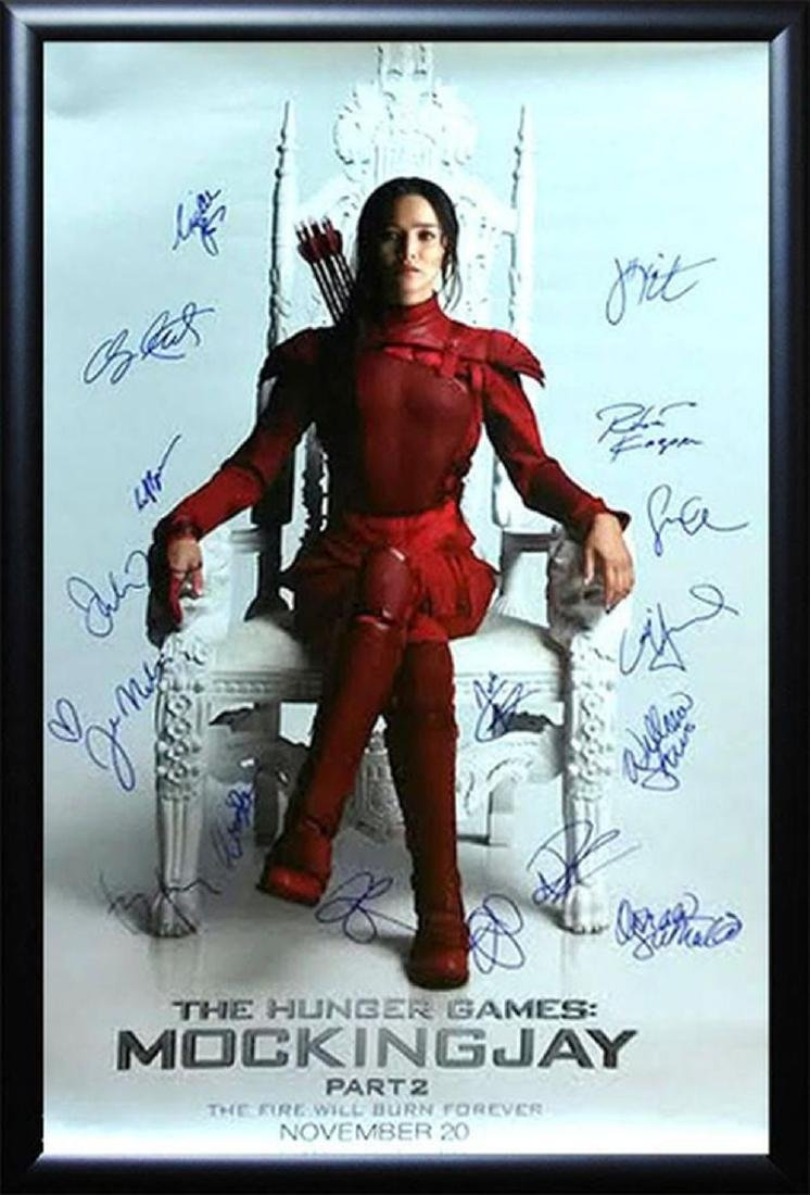 The Hunger Games Mockingjay Part 2 - Signed Movie