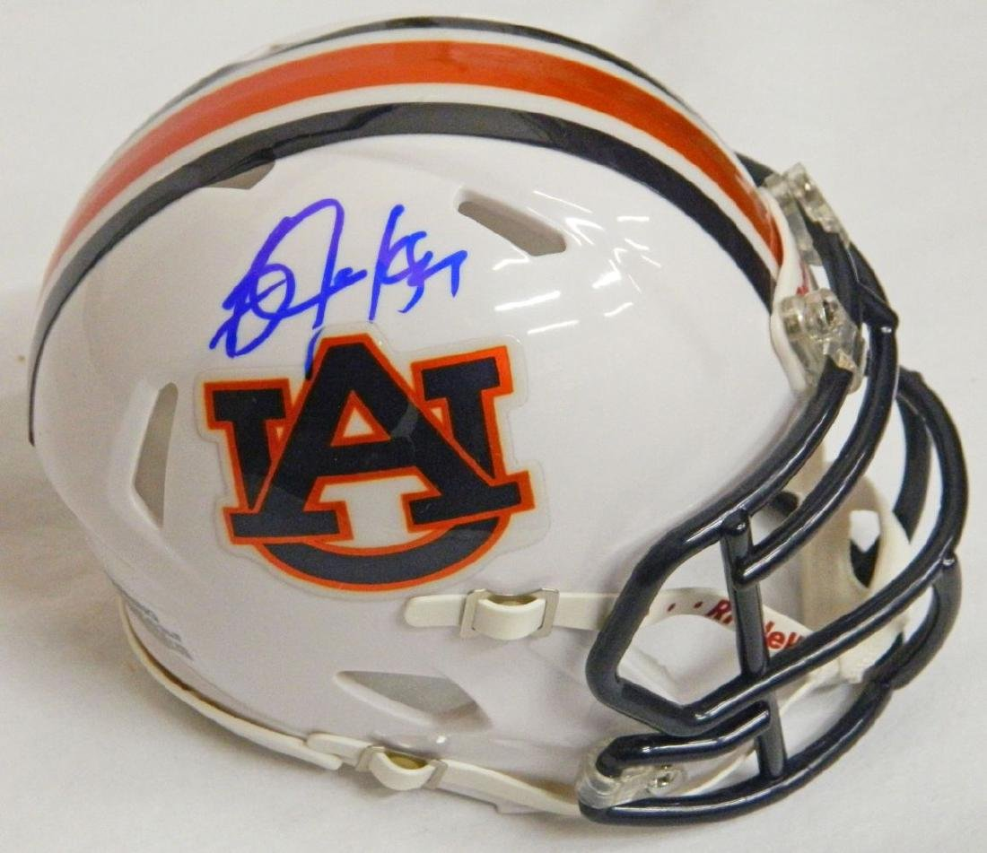 Bo Jackson Signed Auburn Tigers Riddell Speed Replica