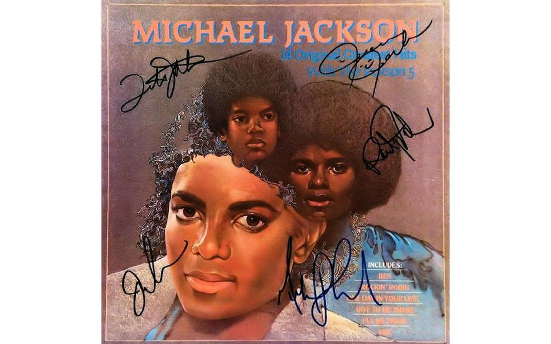 The Jacksons signed The Original Greatest Hits - 1983