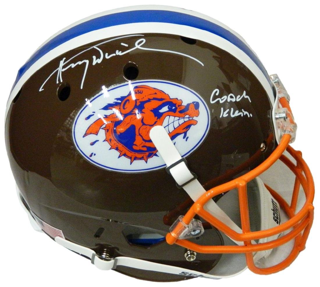 Henry Winkler Signed The Waterboy Mud Dogs Brown Schutt