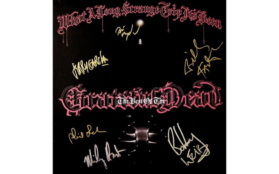 Grateful Dead Signed Album