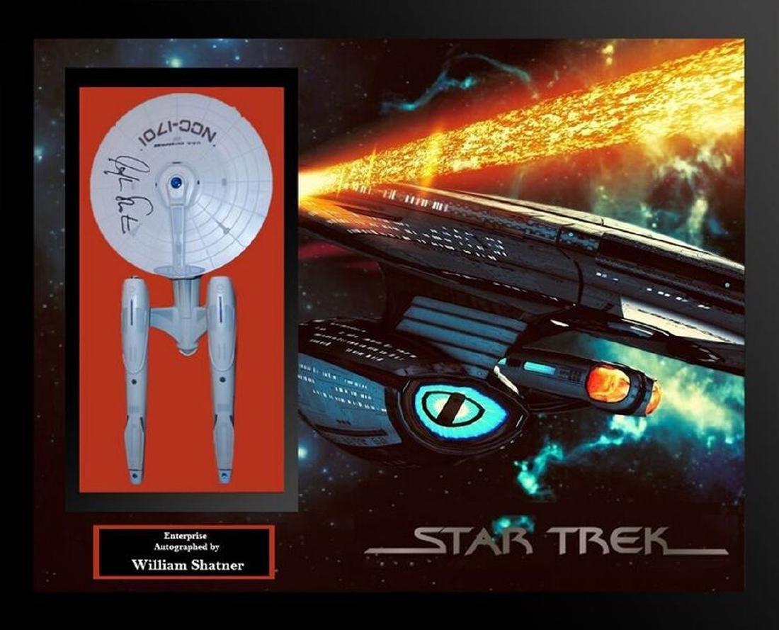 Starship Signed Enterprise