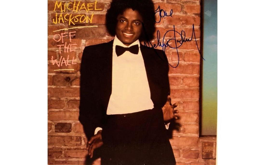 """Michael Jackson Signed """"Off the Wall"""" Album"""