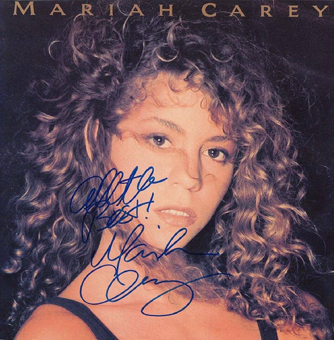 Mariah Carey Signed Mariah Carey Self Titled Album