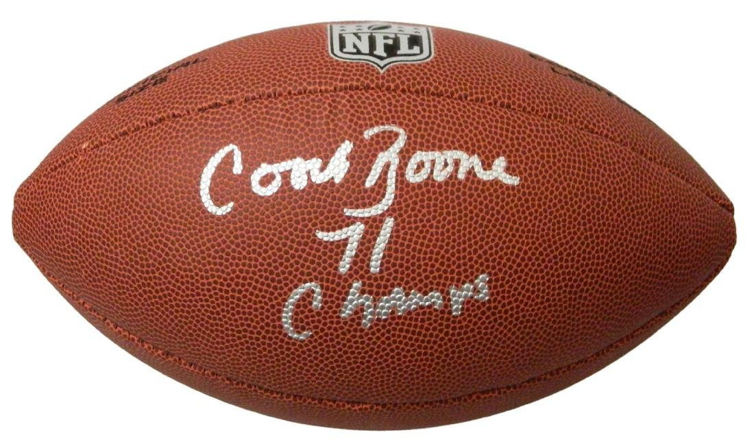 Coach Herman Boone Signed Wilson Limited Full Size NFL