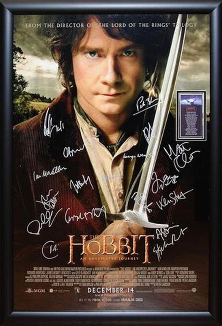 The Hobbit - An Unexpected Journey - Signed Movie