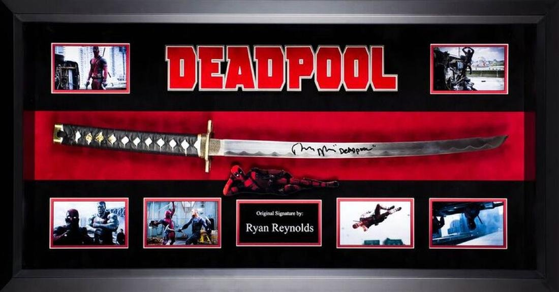Deadpool Sword-signed collage.