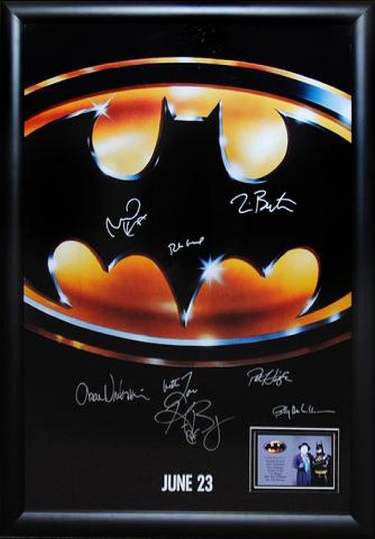 Batman - Signed Movie Poster
