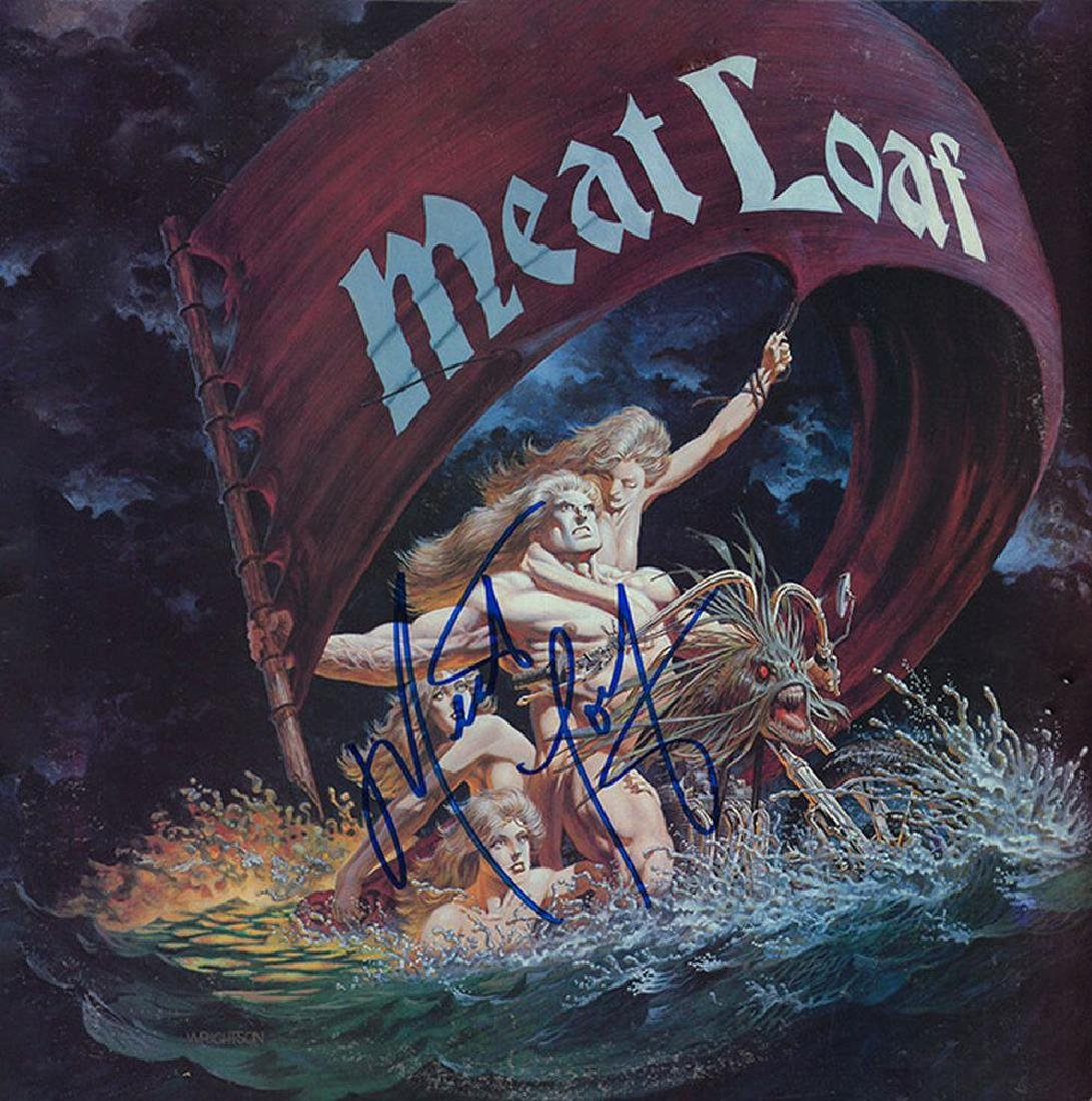 Meat Loaf Signed Dead Ringer Album