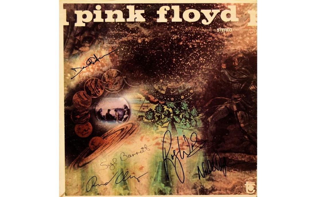"Pink Floyd Signed ""Saucerful Of Secrets"""