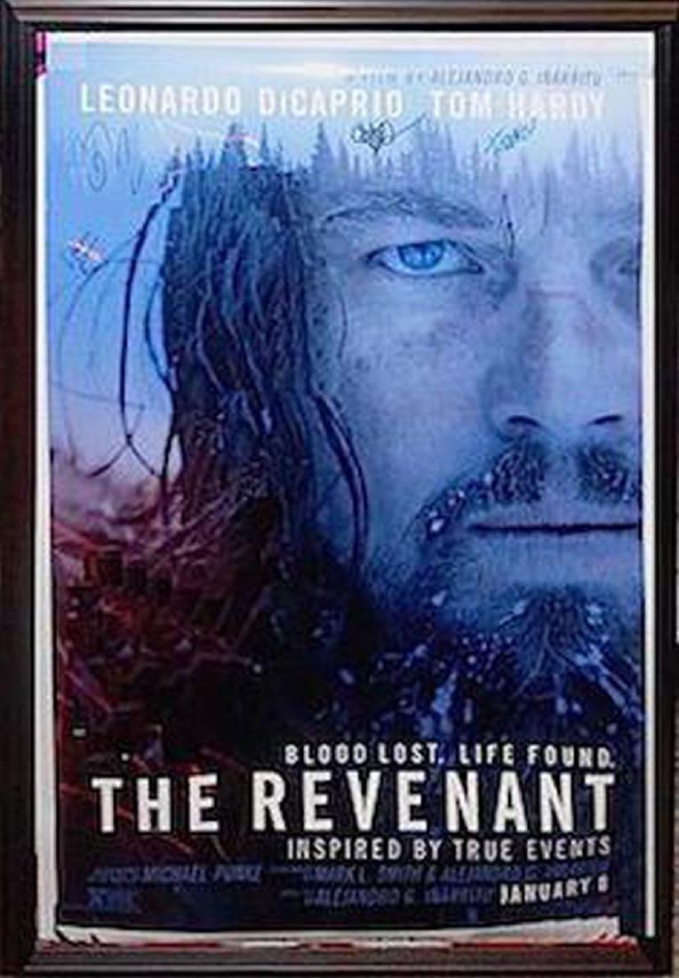 The Revenant Signed Movie Poster