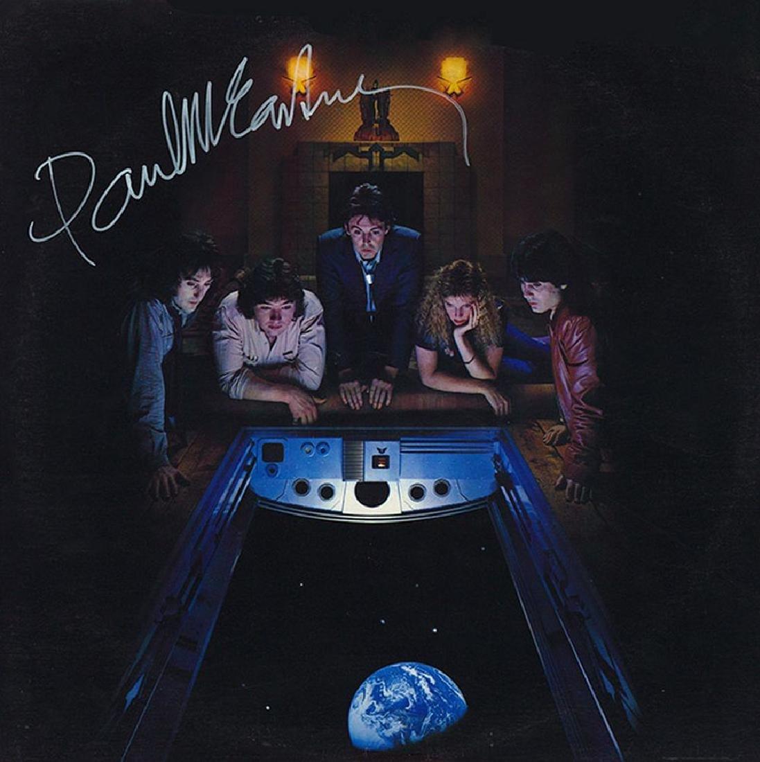 "Paul McCartney Signed ""Back to the Egg"""