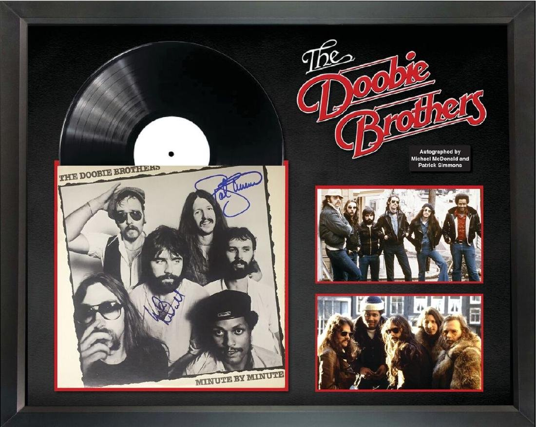"""The Doobie Brothers """"Minute by Minute"""" Autographed"""
