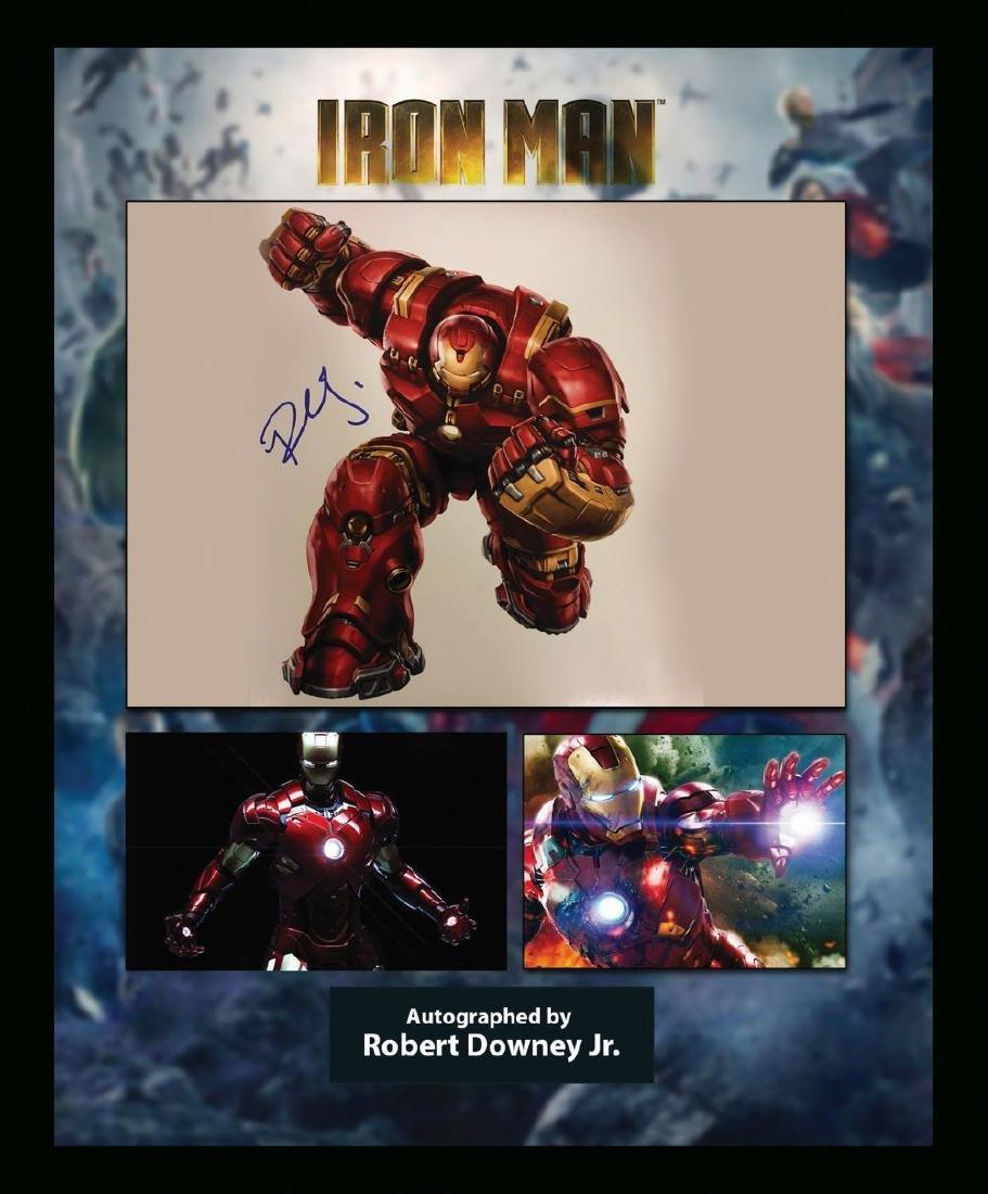 Robert Downey Jr. Signed Iron Man Artist Series