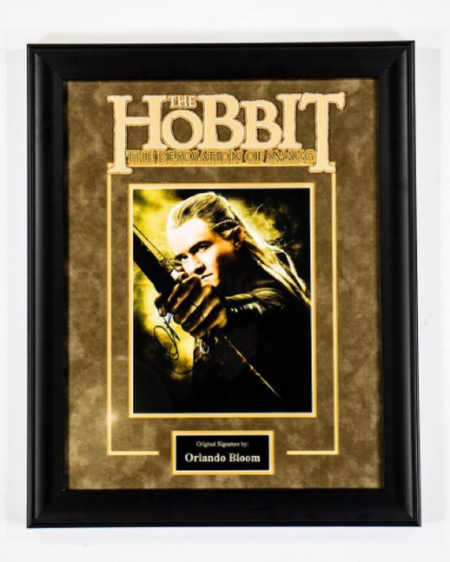Hobbit - Signed by Orlando Bloom - Framed Artist Series