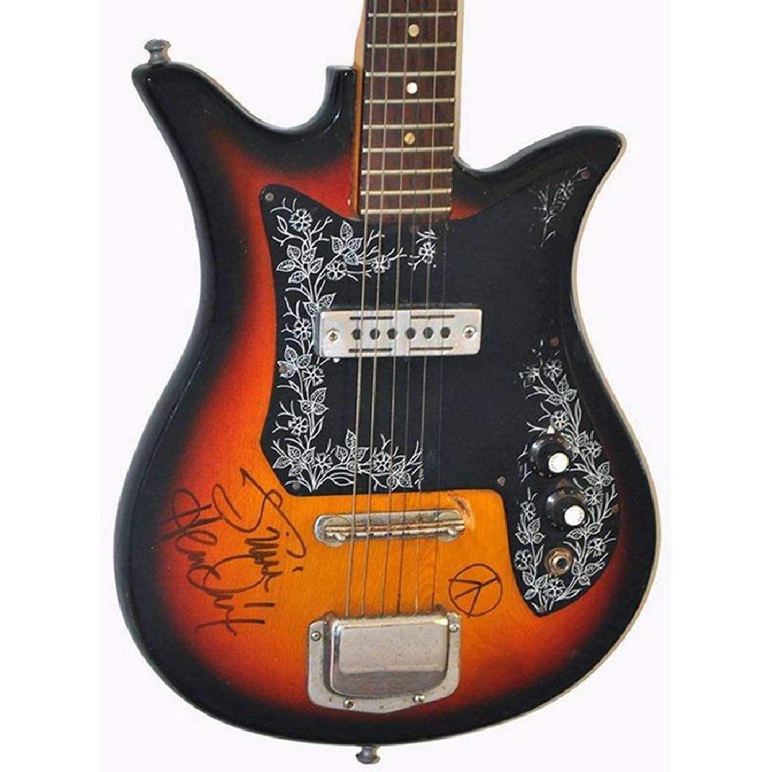 Jimi Hendrix Signed Guitar