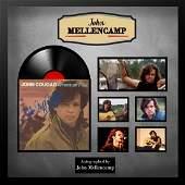 John Mellencamp American Fool Autographed Album