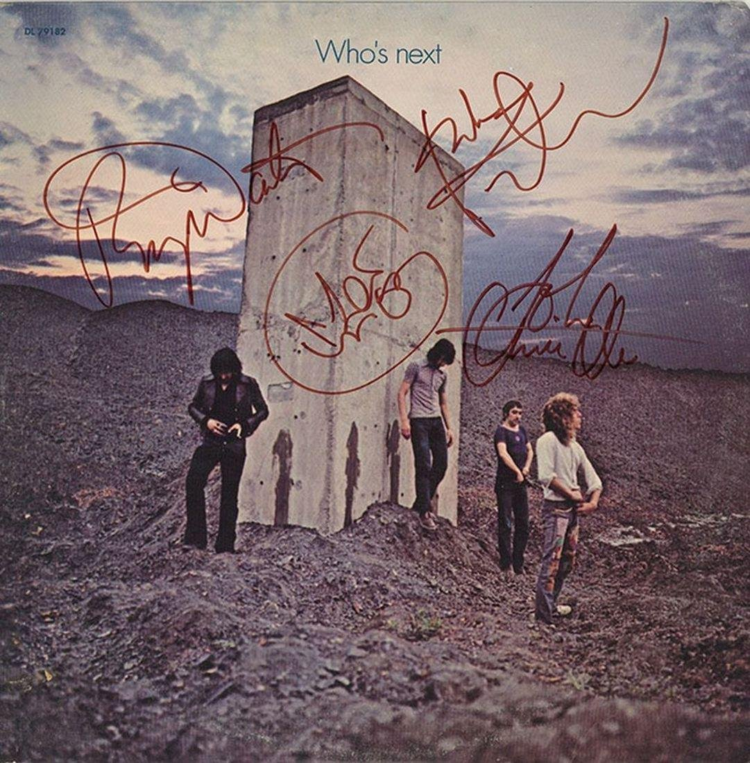 "The Who ""Who's Next"" Signed Album"