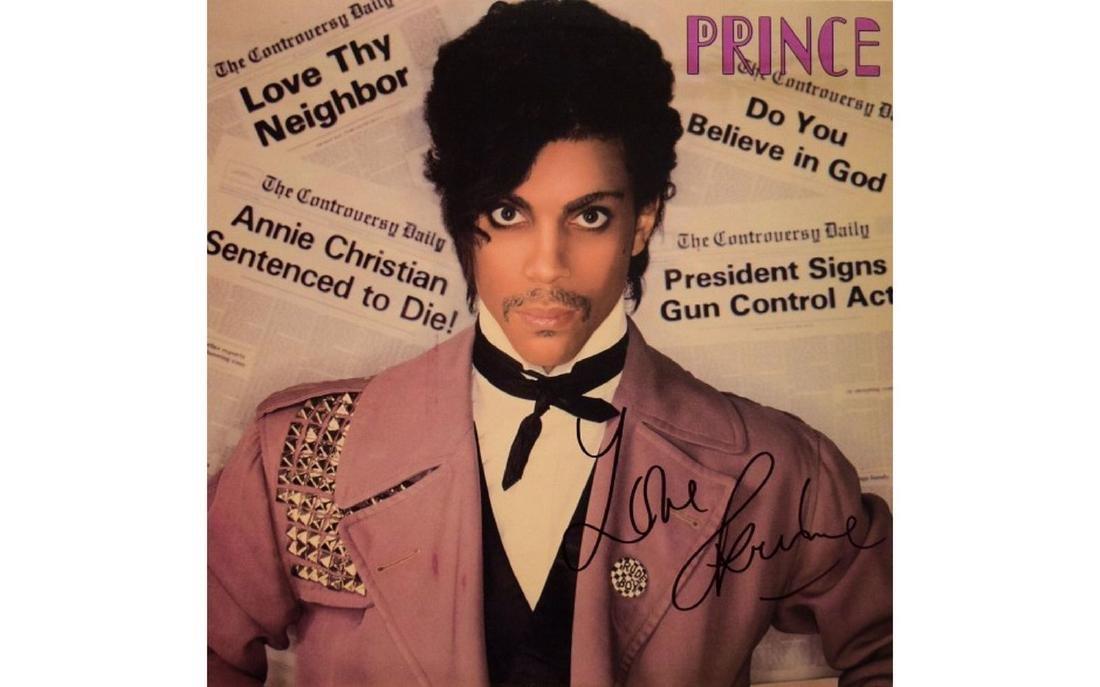 Prince Signed Controversy - 1981 Album