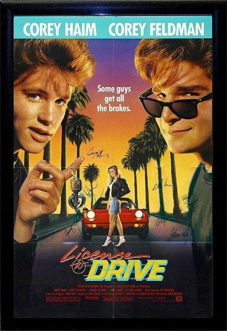 License To Drive Signed Movie Poster
