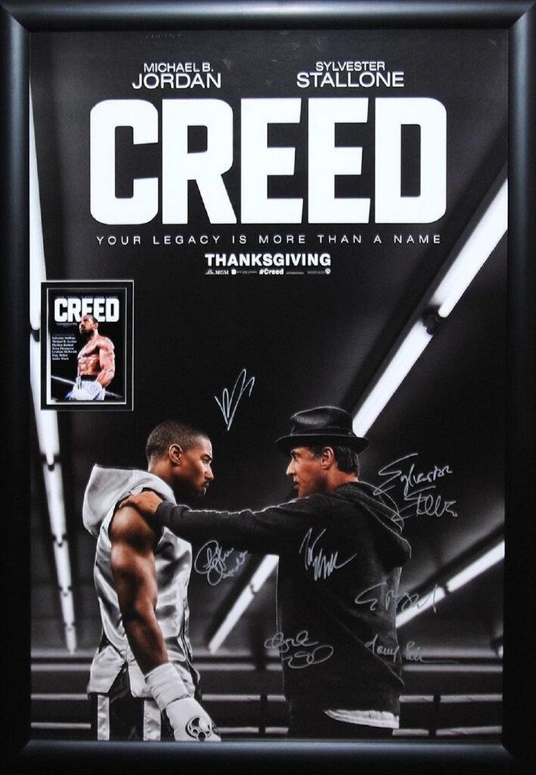 Creed Signed Movie Poster