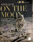 Apollo XI Crew Signed On The Moon Booklet