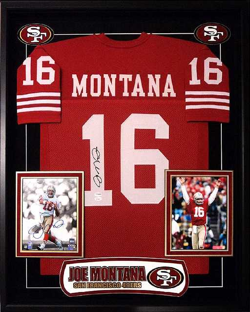 97848f99b2e Joe Montana Signed 49ers Jersey