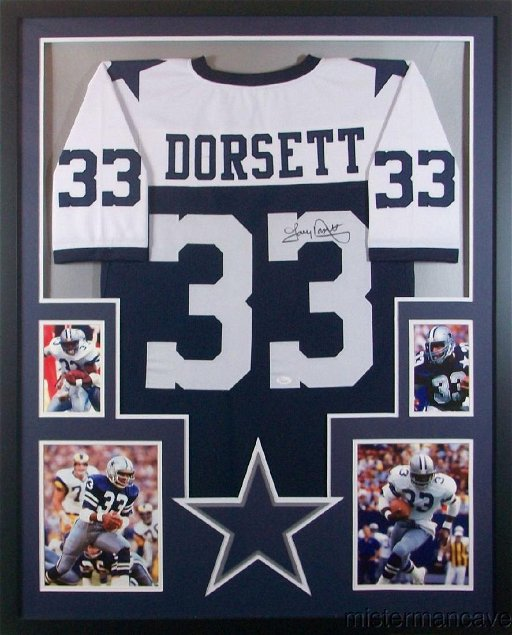 timeless design 211eb 99386 Tony Dorsett Signed Dallas Cowboys Jersey - Jan 06, 2019 ...