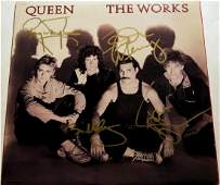 Queen Signed The Works Album
