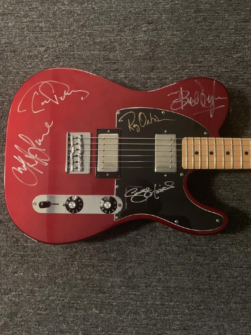 Traveling Wilbury's Signed Fender Telecaster Guitar
