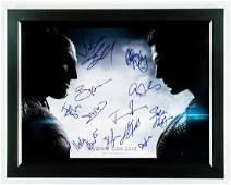 Batman vs Superman Signed Movie Poster