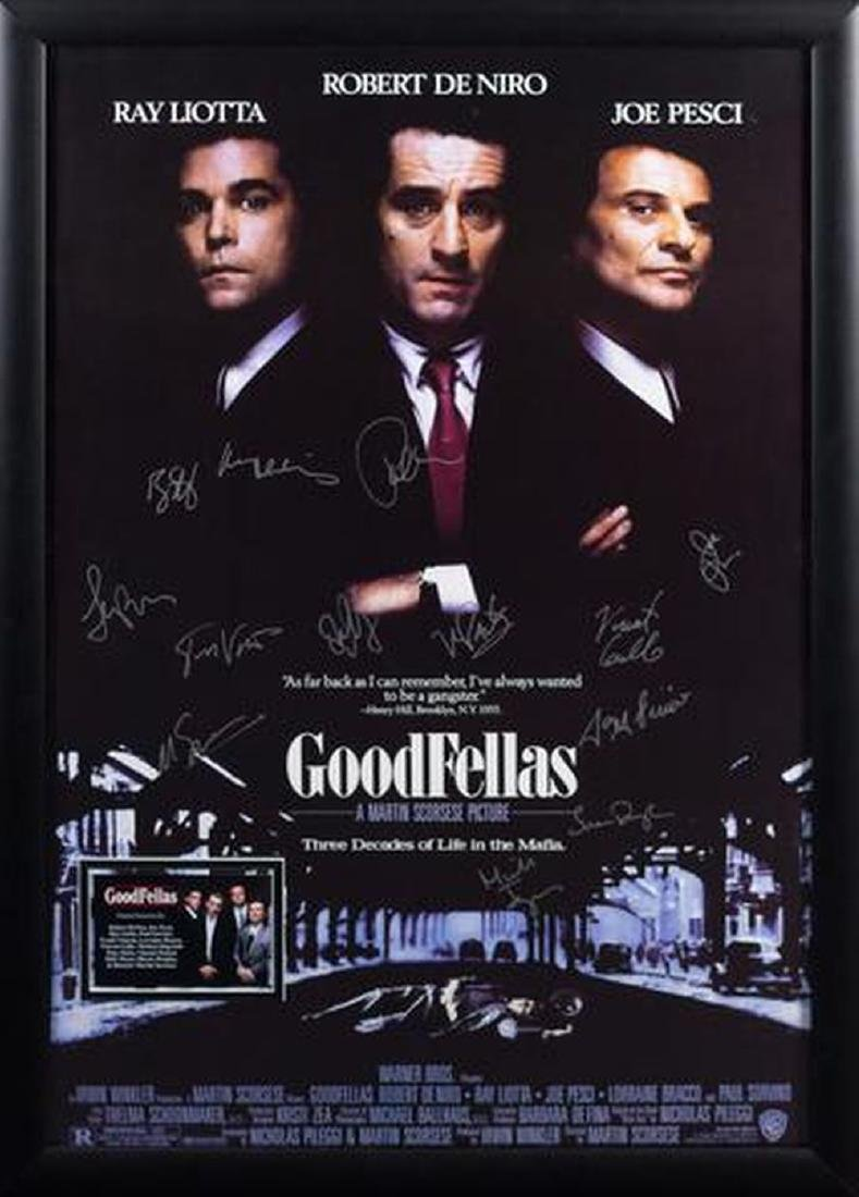 Goodfellas - Signed Movie Poster
