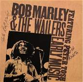 """Bob Marley & Peter Tosh """"Early Music"""" Signed Album"""