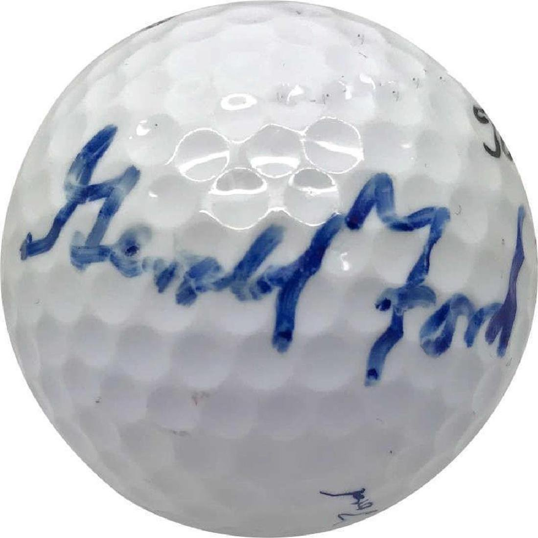 Gerald Ford Signed Golf Ball