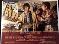 """Monty Python """"Life of Brian"""" Signed Lobby Card"""