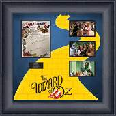 Wizard of Oz Cast Signed Sheet