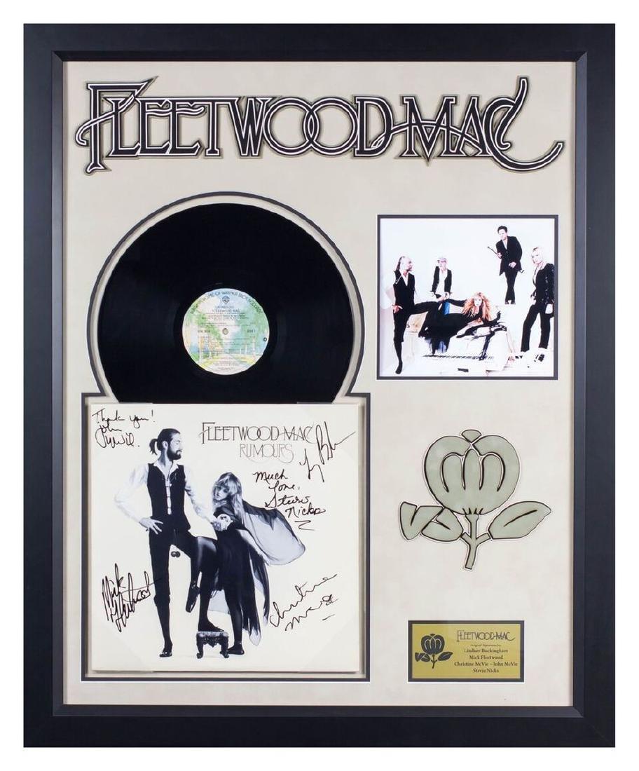 """Fleetwood Mac """"Rumours"""" Signed Album"""