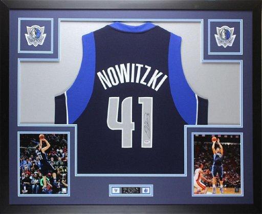 new styles 5924a fa88d Dirk Nowitzki Signed Dallas Mavericks Jersey