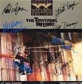 Towering Inferno Signed Laserdisc